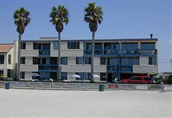 Beautiful South Mission Beach Ocean Front Condo