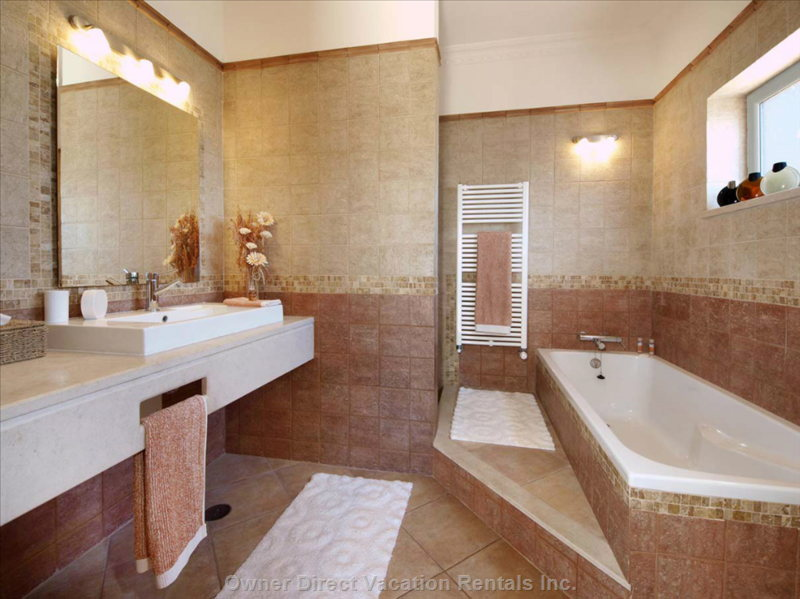 One of the Ensuite Bathrooms