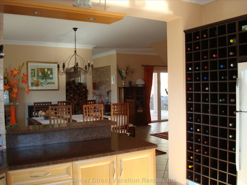 Make Sure you Leave the Wine Rack Full When you Leave Please! ;-)