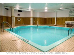 Inside Heated Pool - inside Heated Pool