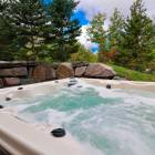 Nothing like a Relaxing Spa in your Private Hot Tub after a Long Day in the Mountains. Available 365 Days/Yr.