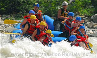 Nearby Rouge River is the Perfect Location for a Whitewater Rafting Adventure