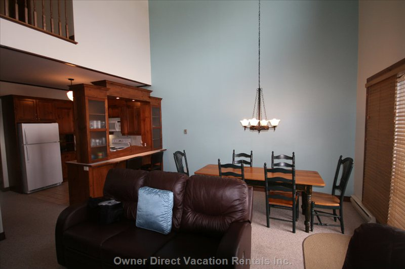 Living/Dining/Kitchen Area
