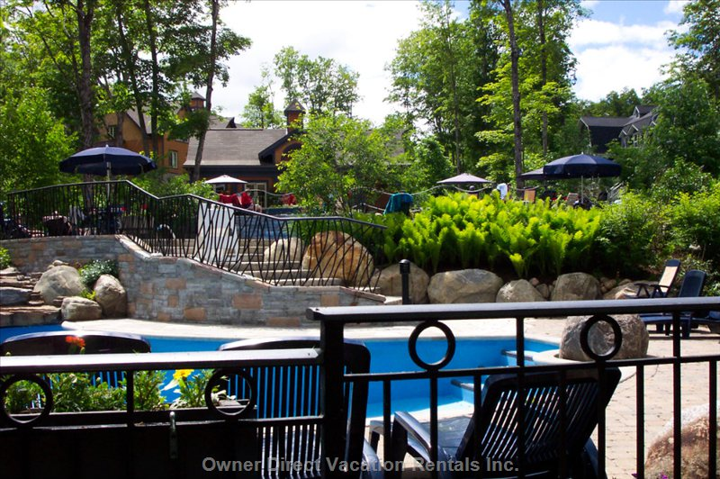 Les Manoirs - Pool