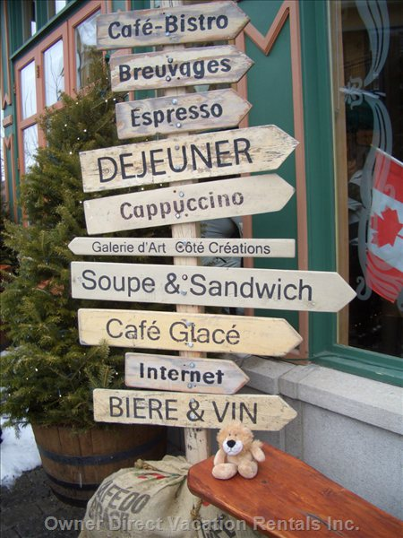Tremblant is the Centre of everything!