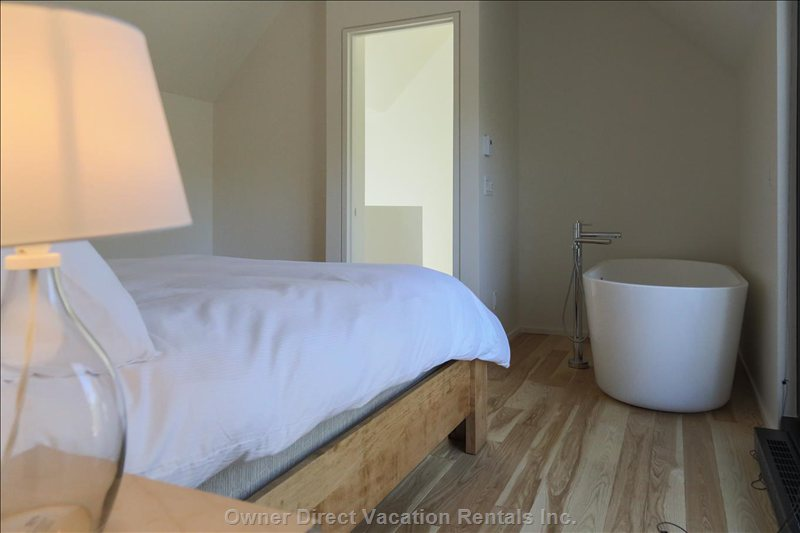 Master Bedroom with Soaker Tub