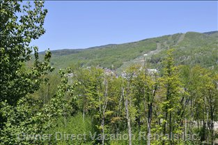 View of Mont Tremblant from Condo Property