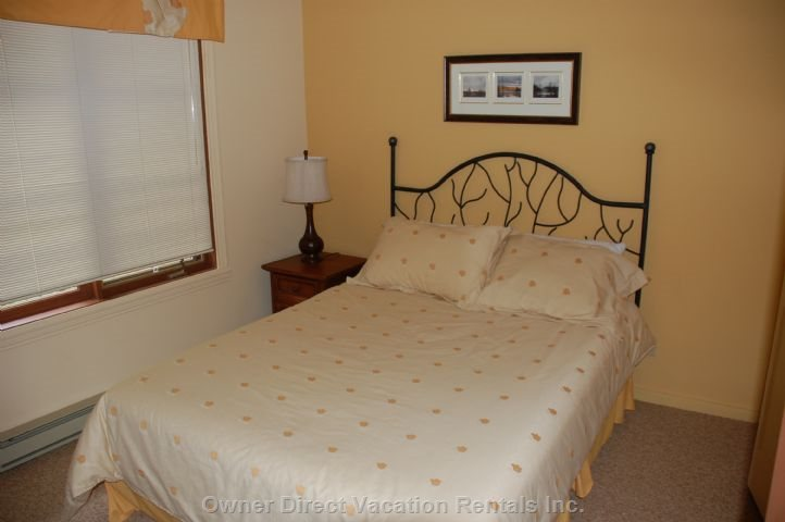 Main Level Bedroom with Queen Size Bed