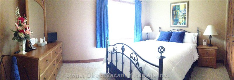 Panoramic View of Bedroom