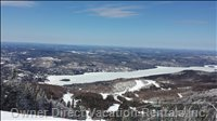 Lac Tremblant from the Slopes