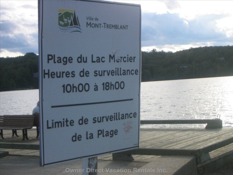 Beach - Lac Mercier