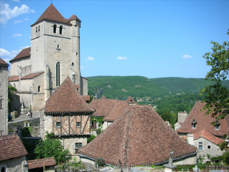 Nearby Saint-Cirq Lepopie, one of France's most Beautiful Villages
