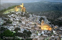 Views Montefrio, 18 Km Away from the House, Castle Ruins, Ancient Moorish Border, Round Church Plant.