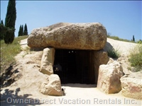 Neolithic Dolmen in Antequera to 60 Km