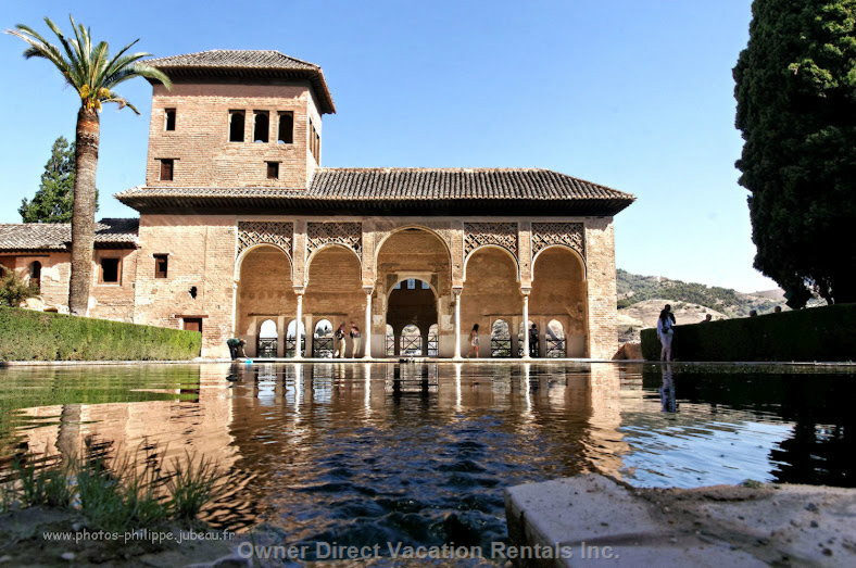 Alhambra Palace En Granada World Heritage City to 80 Km