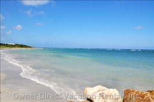 Walk to the Beautiful Beach on Property