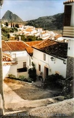 Montejaque with its Typical Narrow, Winding Streets.