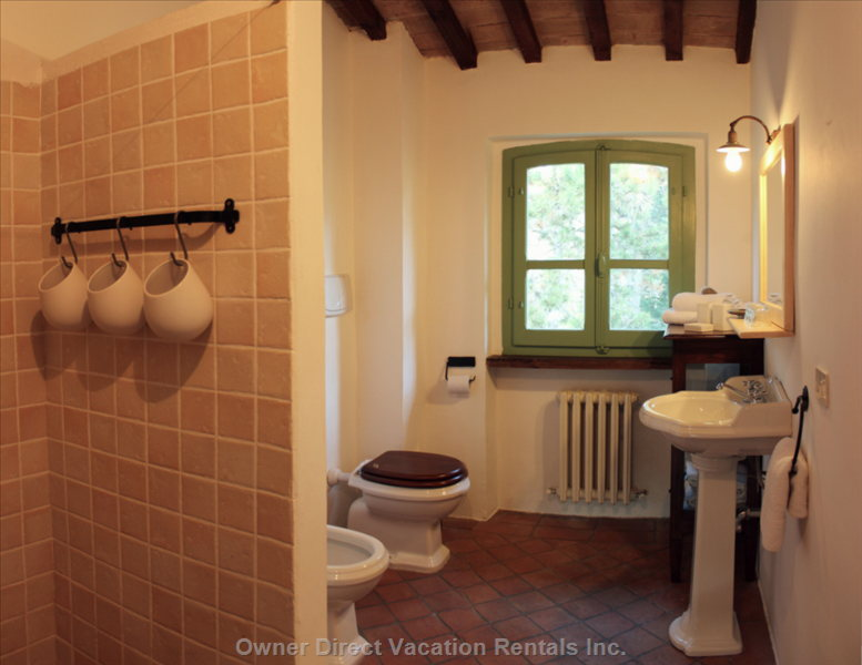 Nostalgic Bathrooms with all Amenities