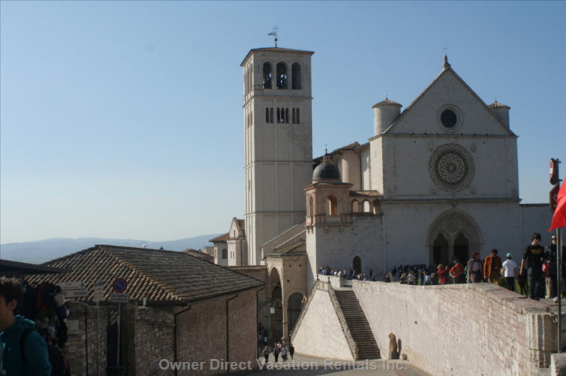 Assisi - a 30 Minute Drive Away