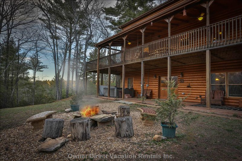 Rare 5 Bed Cabin in Private Setting