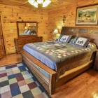 Large Main Floor Master Bedroom with Hdtv, Dvd, Large Walkin Closet, and En Suit