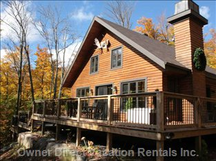 Luxurious 3 Levels Wooden Cottage with Spa.