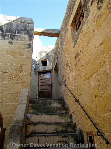 An Outside Stair