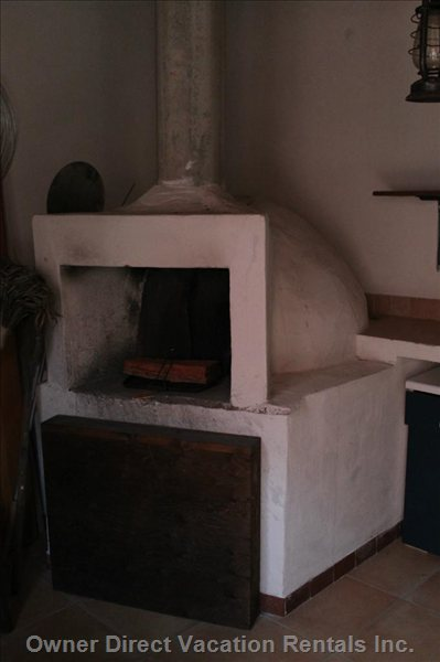 """Pizza Oven"" inside the Storage Room"