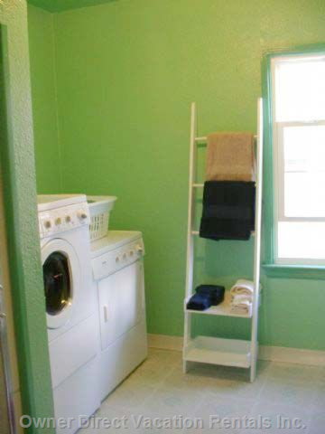 Washer/Dryer with Shower and Bathroom