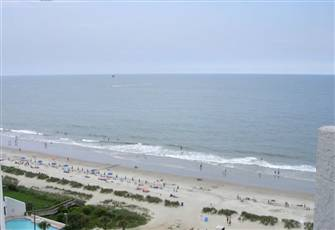 Oceanfront one Bedroom Condo