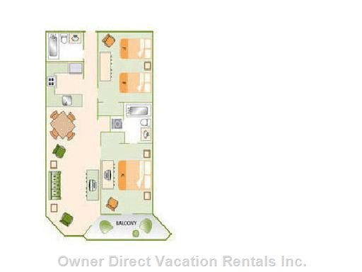 Great Condo Layout!