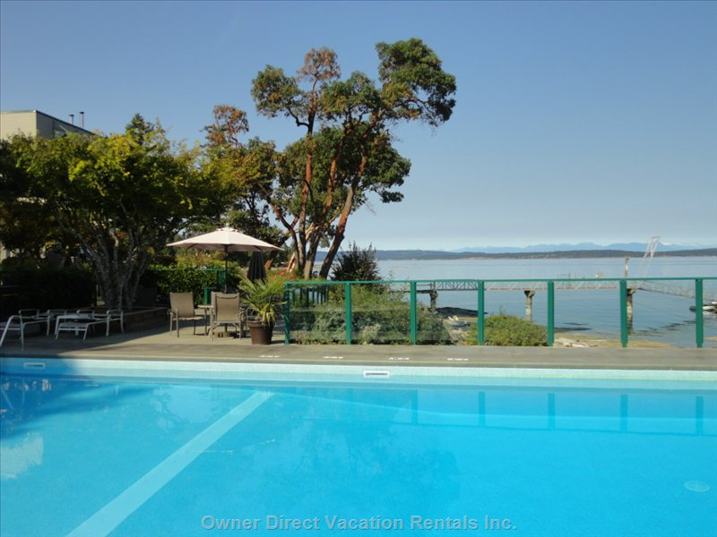 Oceanside Heated Pool. Seasonal