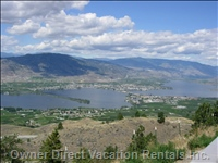 View of Osoyoos from the Lookout on the Crowsnest Highway