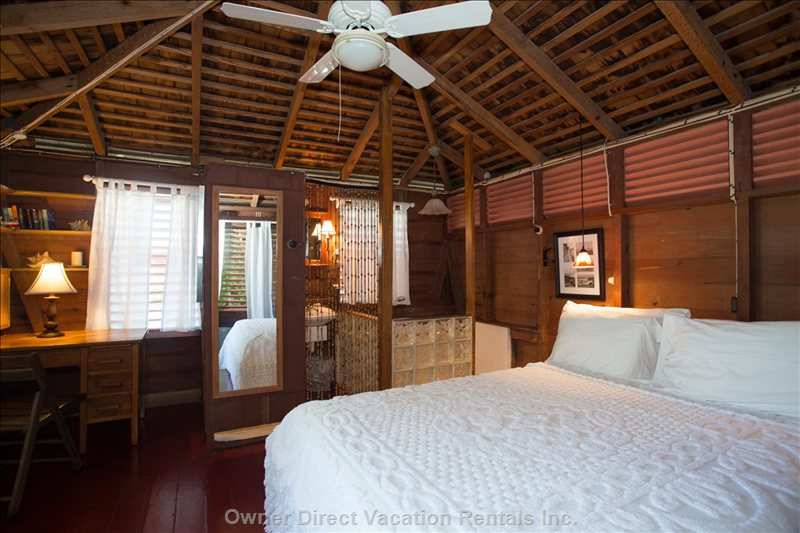 Queen Size Bed in Adjacent Cottage