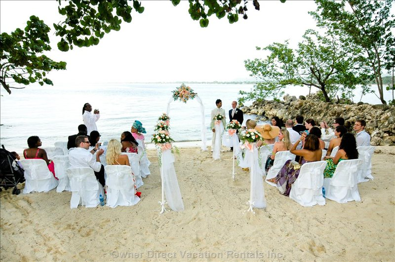 Wedding on the Small Beach