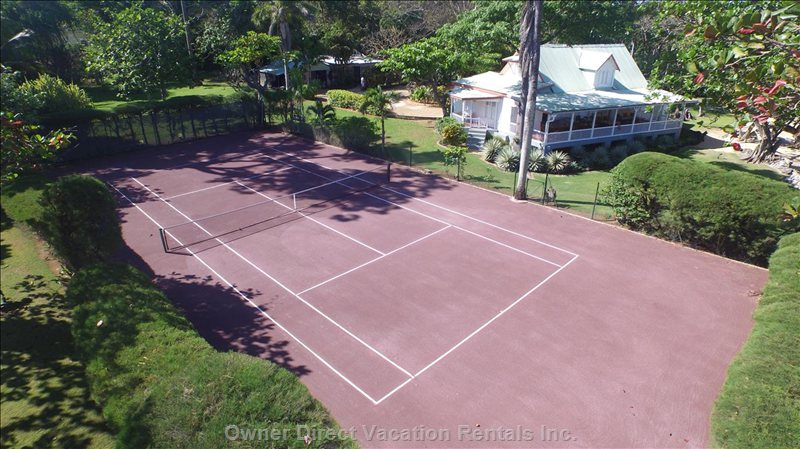 Northeast Fast-Dry Red Clay Court