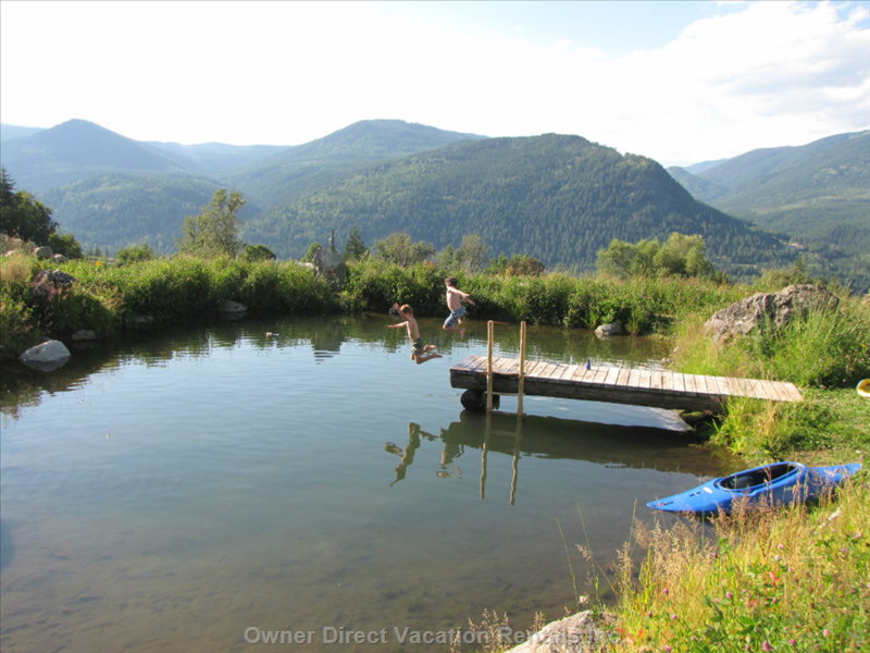 Permaculture Ponds- Go for a Refreshing Dip!