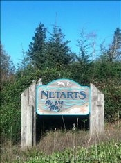 Netarts is a Small Quiet Oceanfront Village.  Major Stores and Services are Available 8 Miles Away in Tillamook Oregon.
