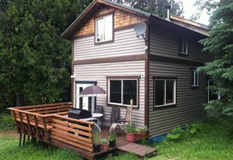 Mountain House above Slocan Lake Available Year Round