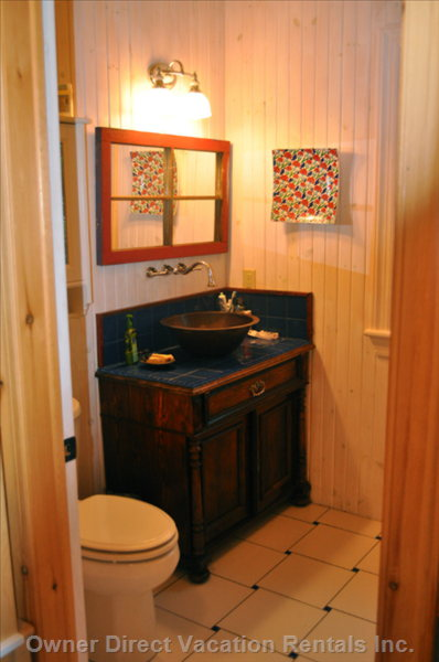 Main Bath, Turkish Tyles and Antiques