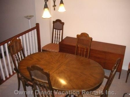 Dining Room - Similar to, but May Not be this Exact Unit.