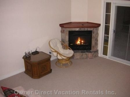 Fireplace - Similar to, but May Not be this Exact Unit.