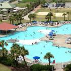 The Barefoot Resort Main Pool and Hot Tub (one of the Largest Saltwater Pools)