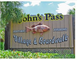John's Pass on Gulf Blvd
