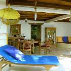 Main Sitting Room - Open to the Sun and Gentle Ocean Breezes