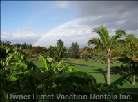 Beautiful Rainbow View from the Lanai