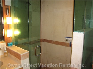 Oversized Shower