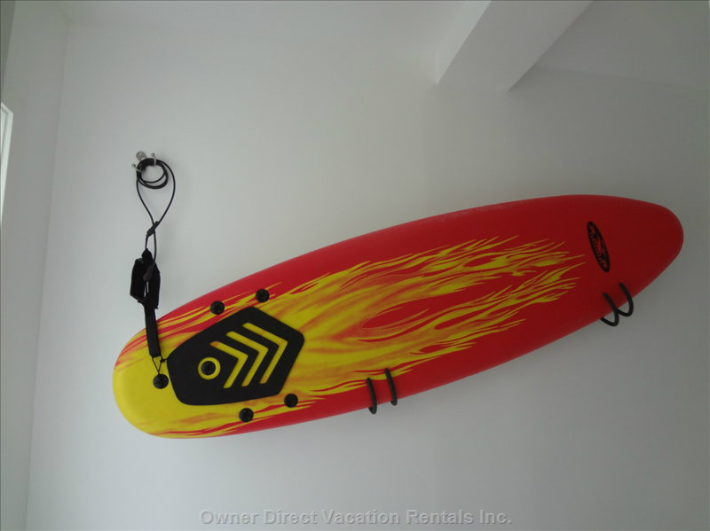 Hallway Wall Art - Surf Board