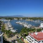Marina View as Seen from Guest Bedroom Balcony - Wake up to Mystical Sunrises over the Sierra Madres