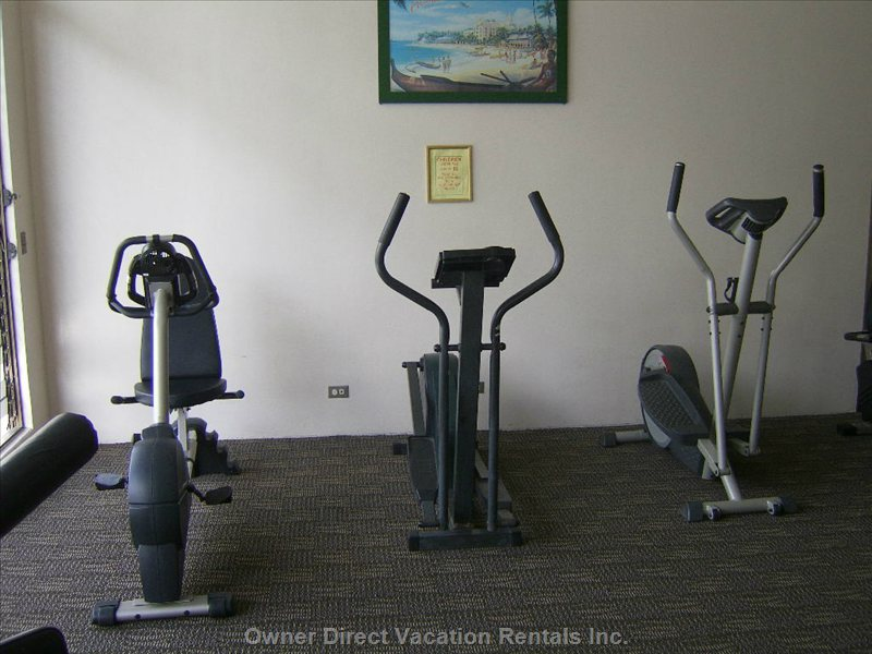 Exercise Room ~ 7th Floor - Modest Equipment for Cardio.